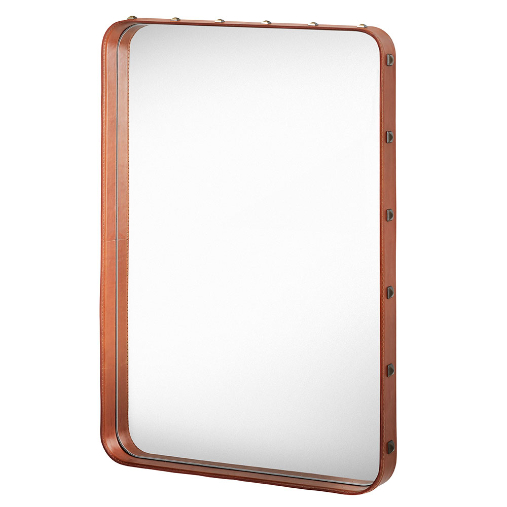 Adnet Spegel 70x48cm Brun