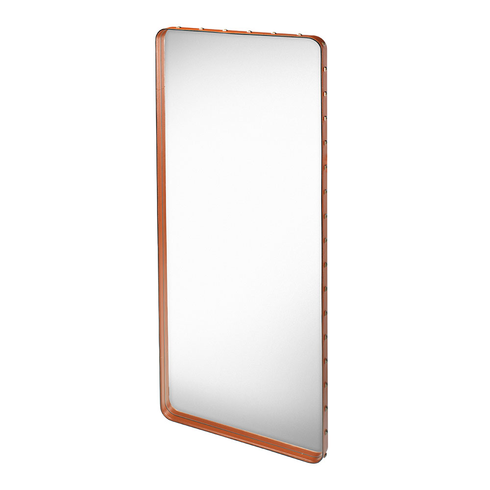 Adnet Spegel 115x70cm Brun