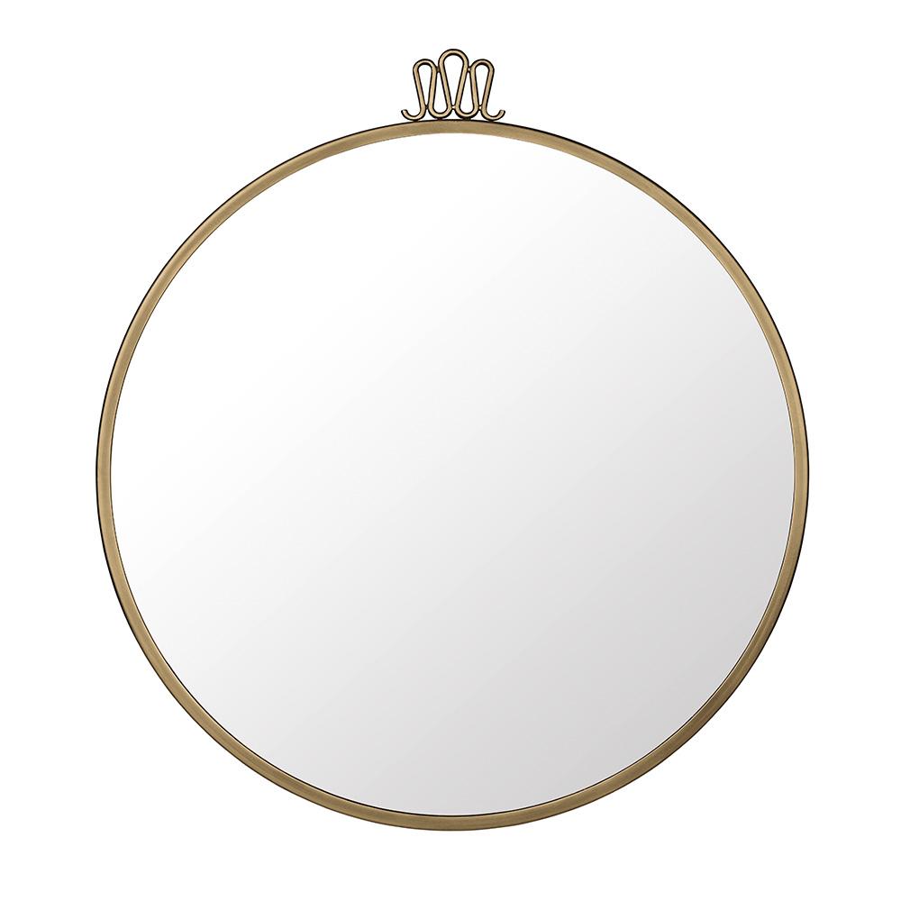 Randaccio Spegel ø60cm Mässing
