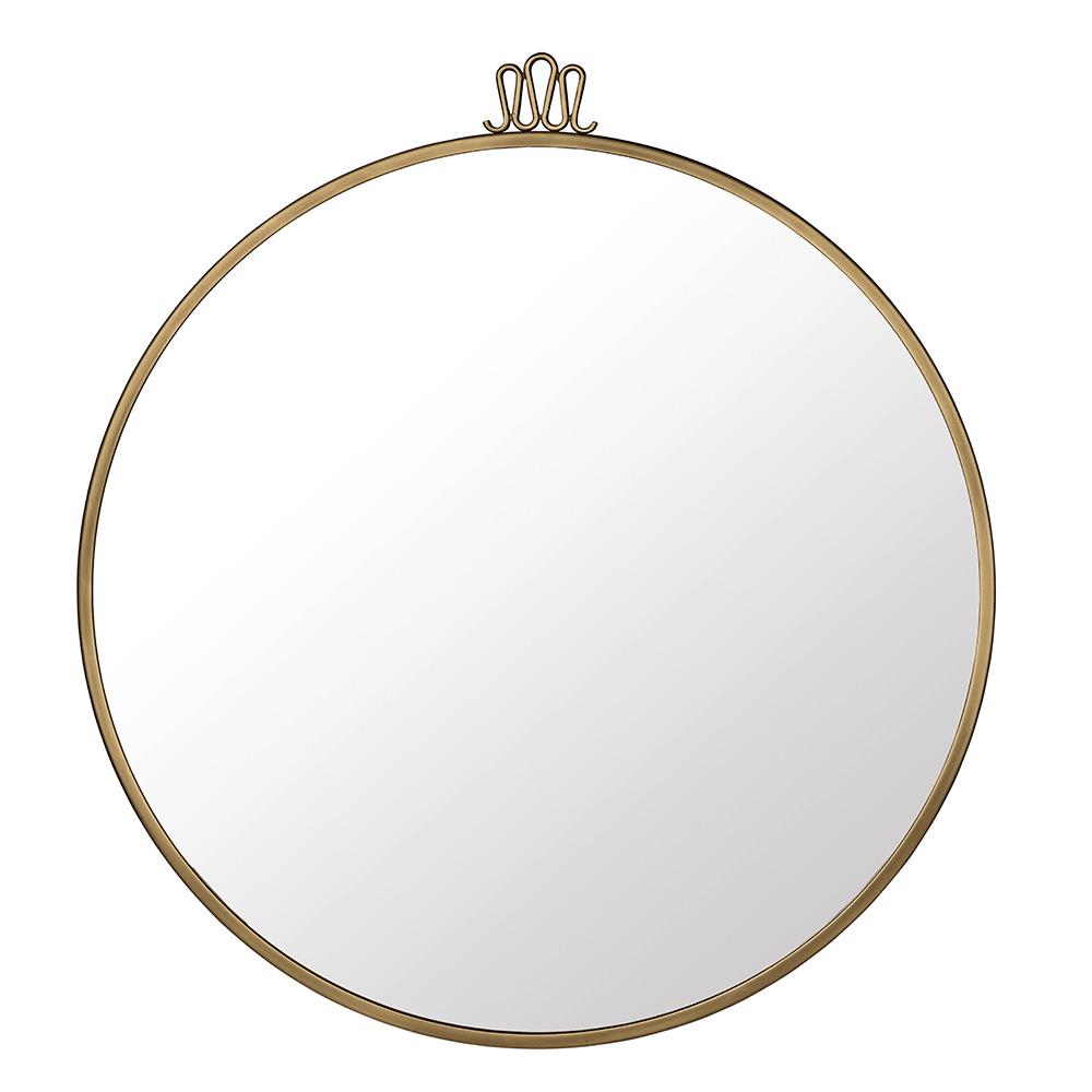 Randaccio Spegel ø70cm Mässing