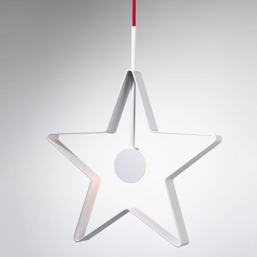 Spica Julstjärna 40cm, Vit, SMD Design