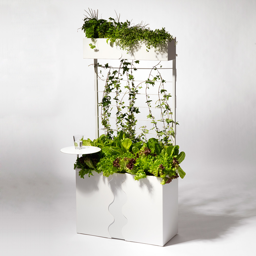 Urban Garden Odlingslåda Vit
