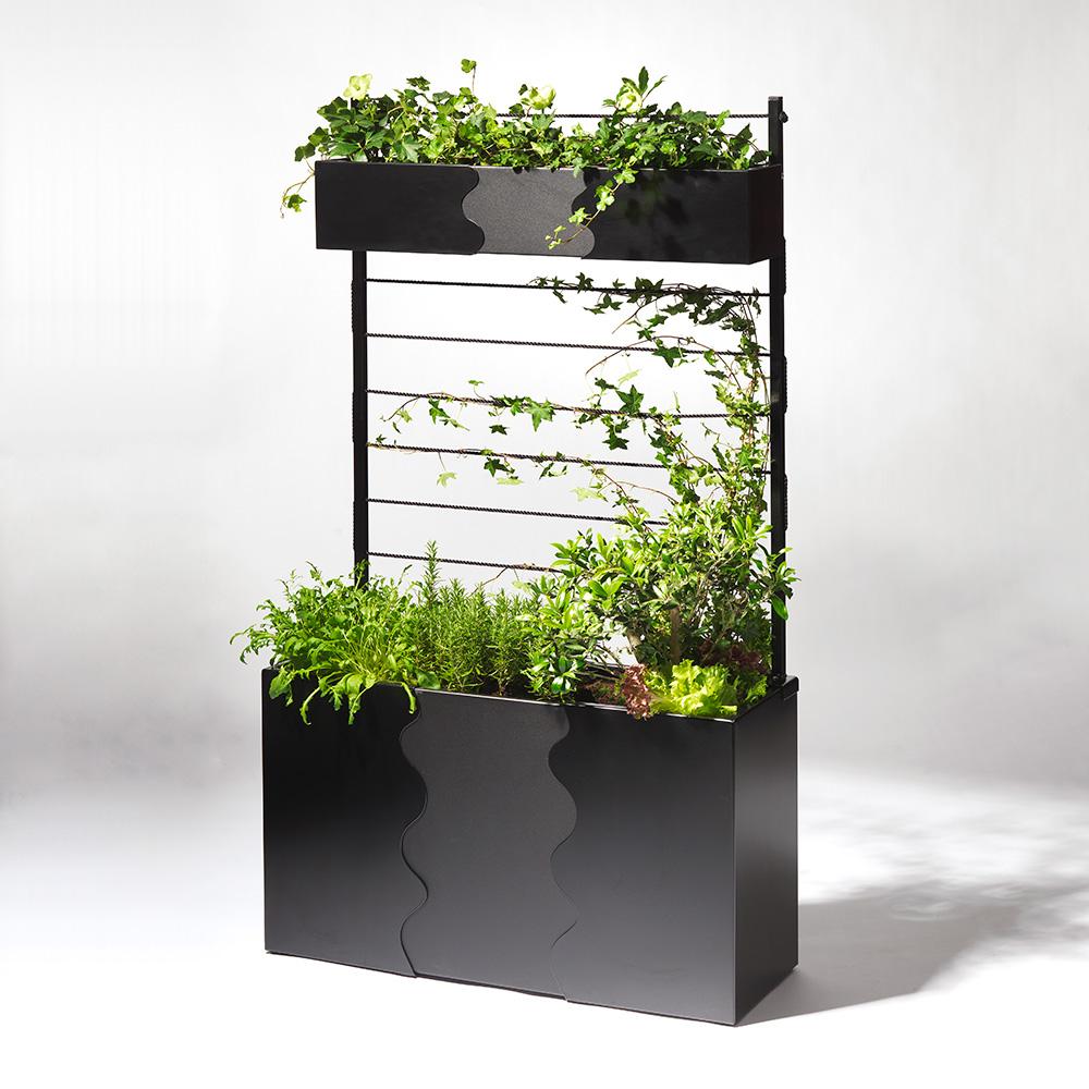 Urban Garden Odlingslåda Svart