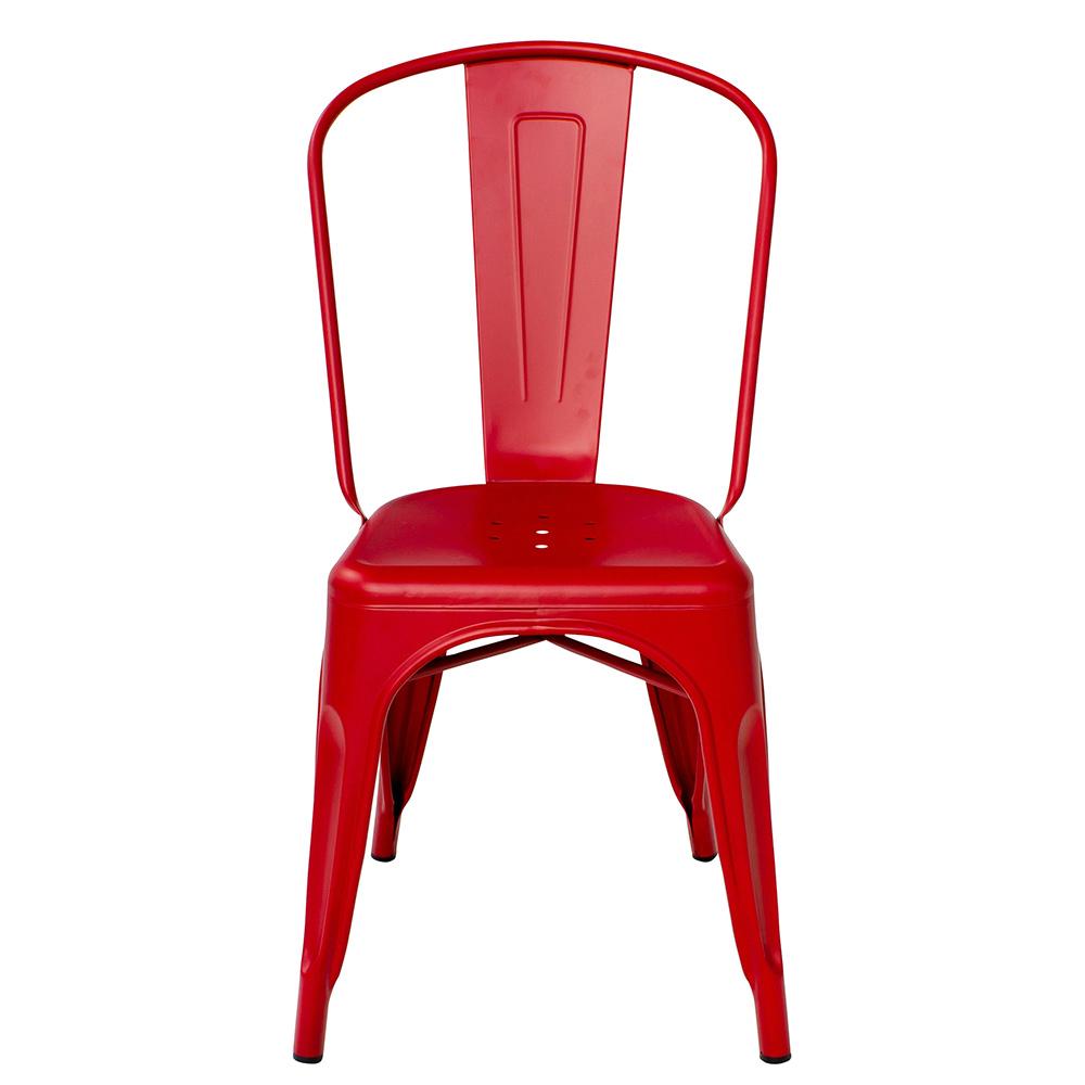 Stol A Röd/Matt