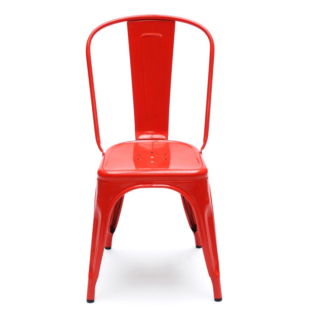 Stol A Röd/Blank