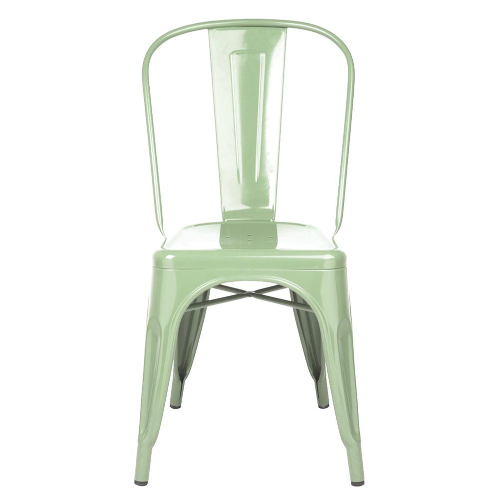 Stol A Ljusgrön/Blank