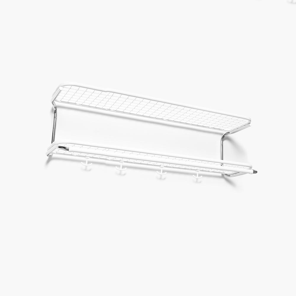 Classic 650 Hatthylla 100cm, Vit Krom Gunnar Bolin Essem Design Royaldesign Se