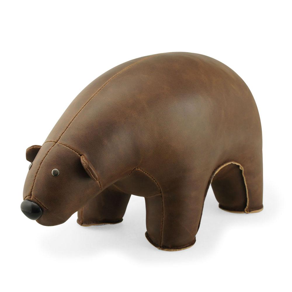 Bokstöd Brunbjörn