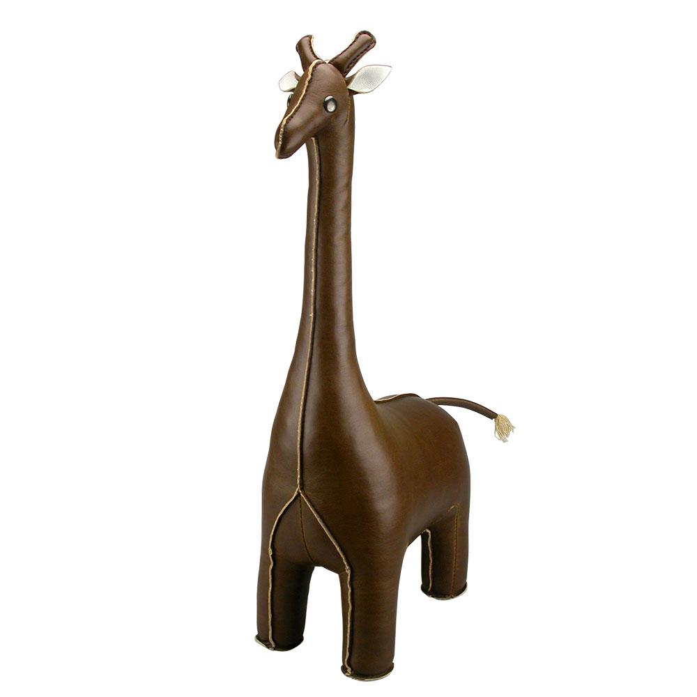 Bokstöd Giraff Brun