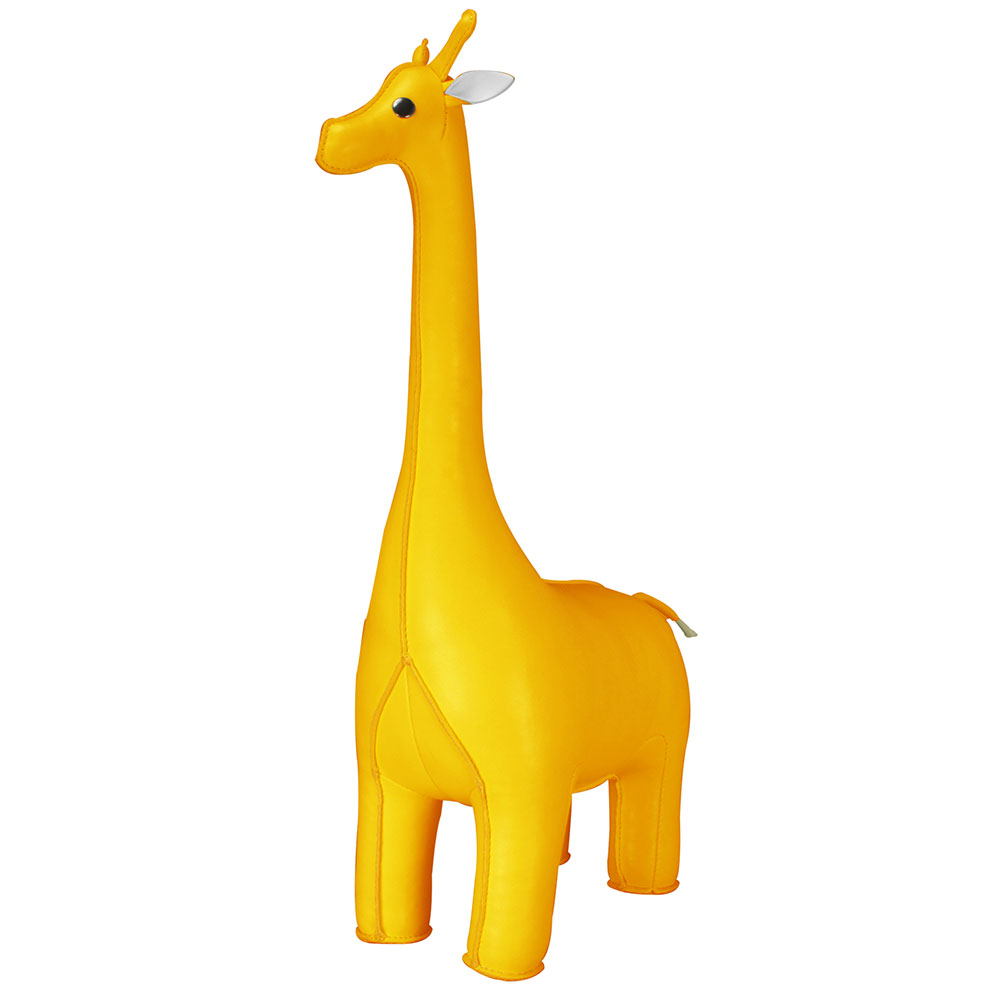 Bokstöd Giraff Gul