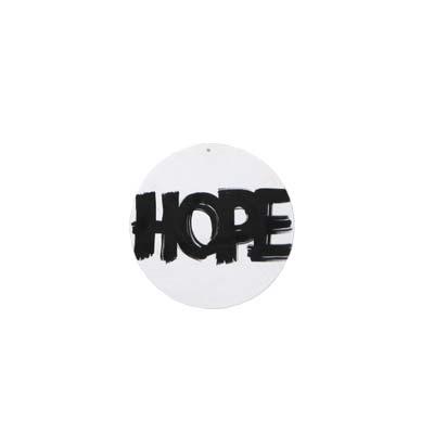 Hope Rund Poster 25 cm