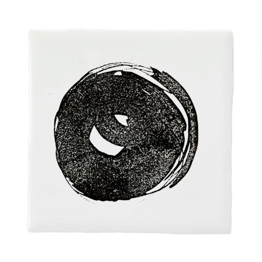 Circle Liten Keramikplatta