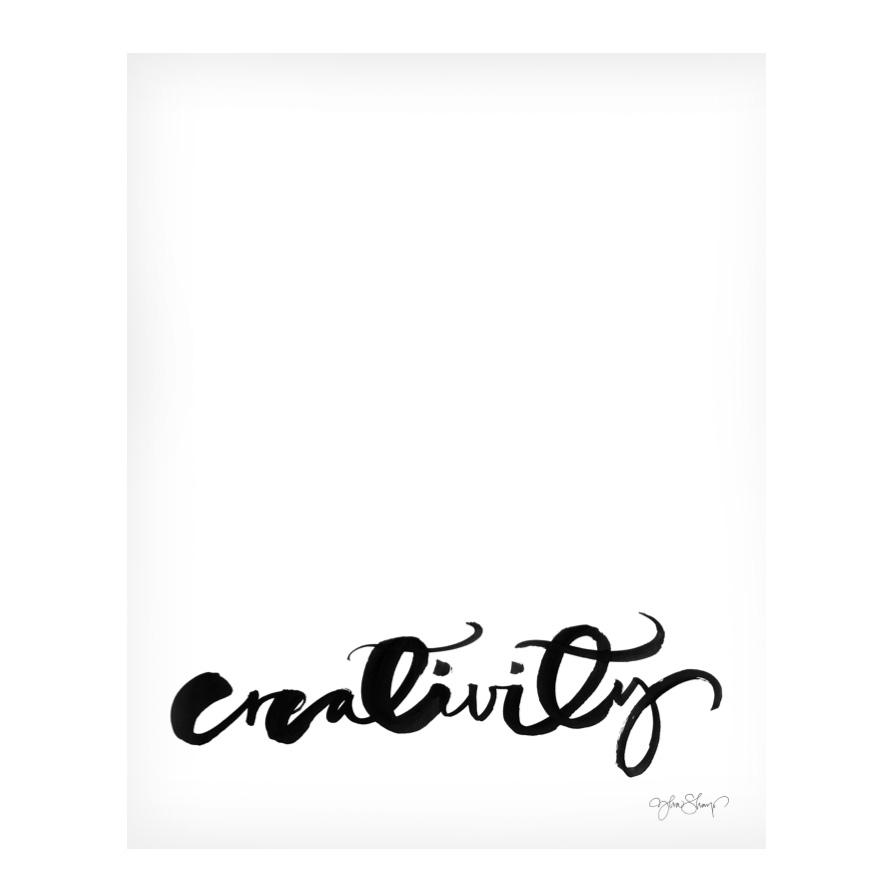 Creativity Poster 40×50 cm