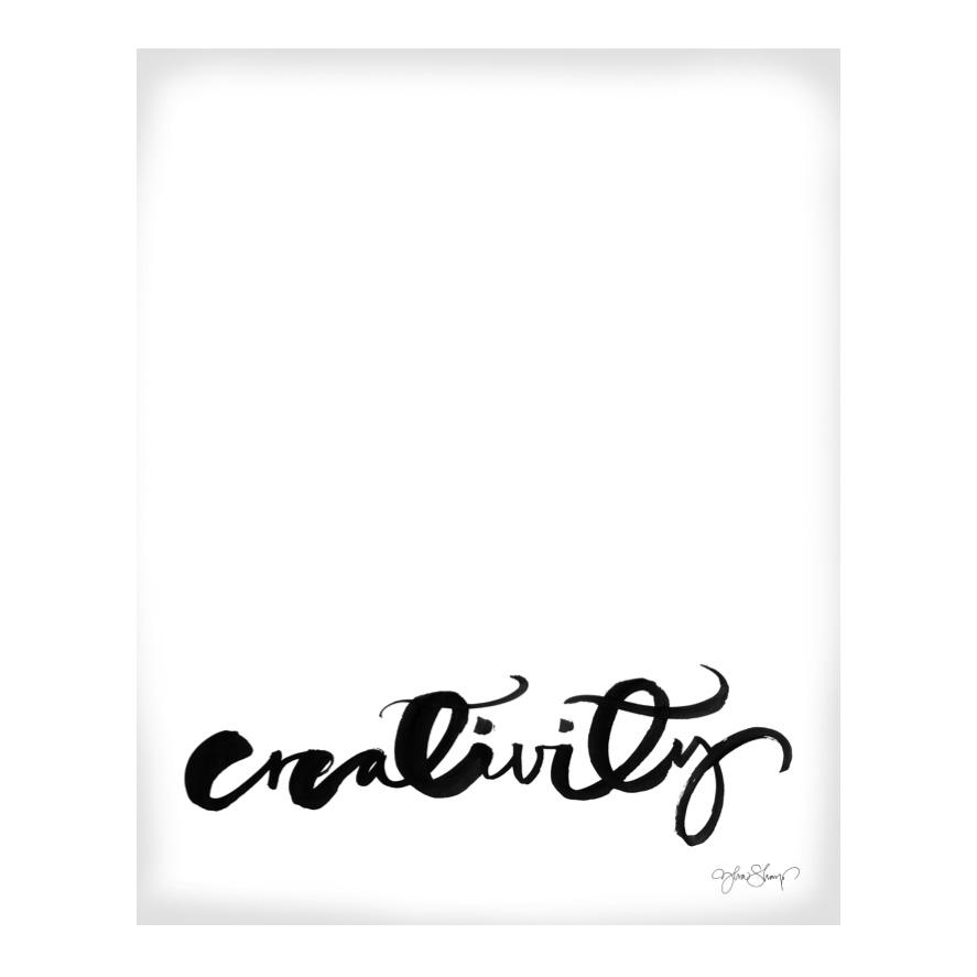 Creativity Poster 70×100 cm