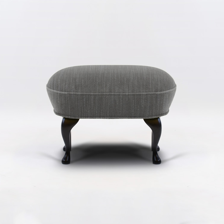 April Pall Ducale Grey Klassisk/Svartbetsade