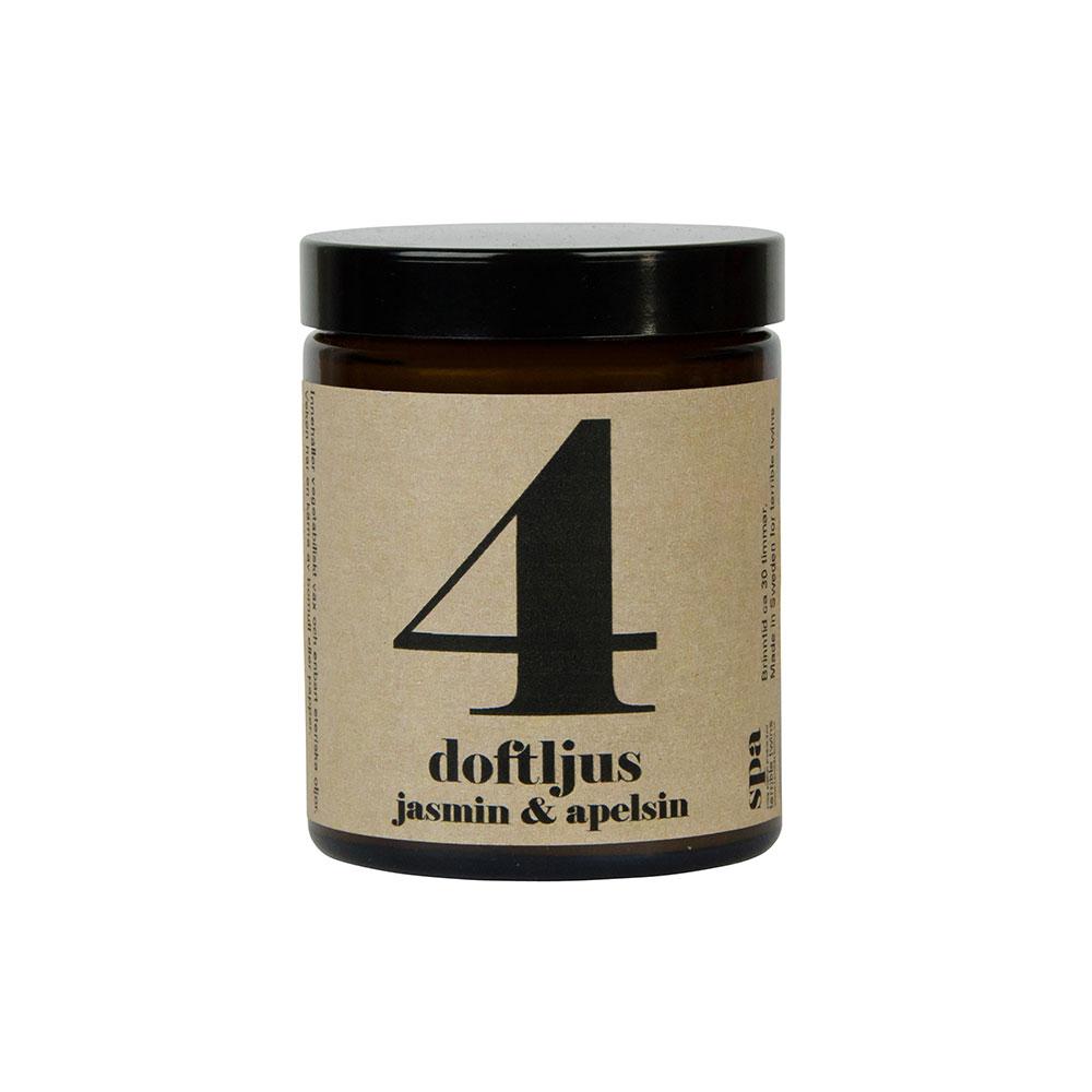 Doftljus Jasmin & Apelsin 4