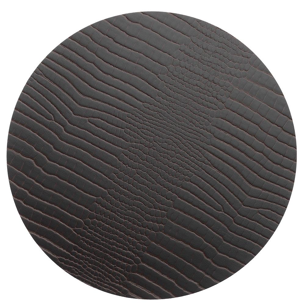 Circle M Grytunderlägg ø30cm Croco Brown