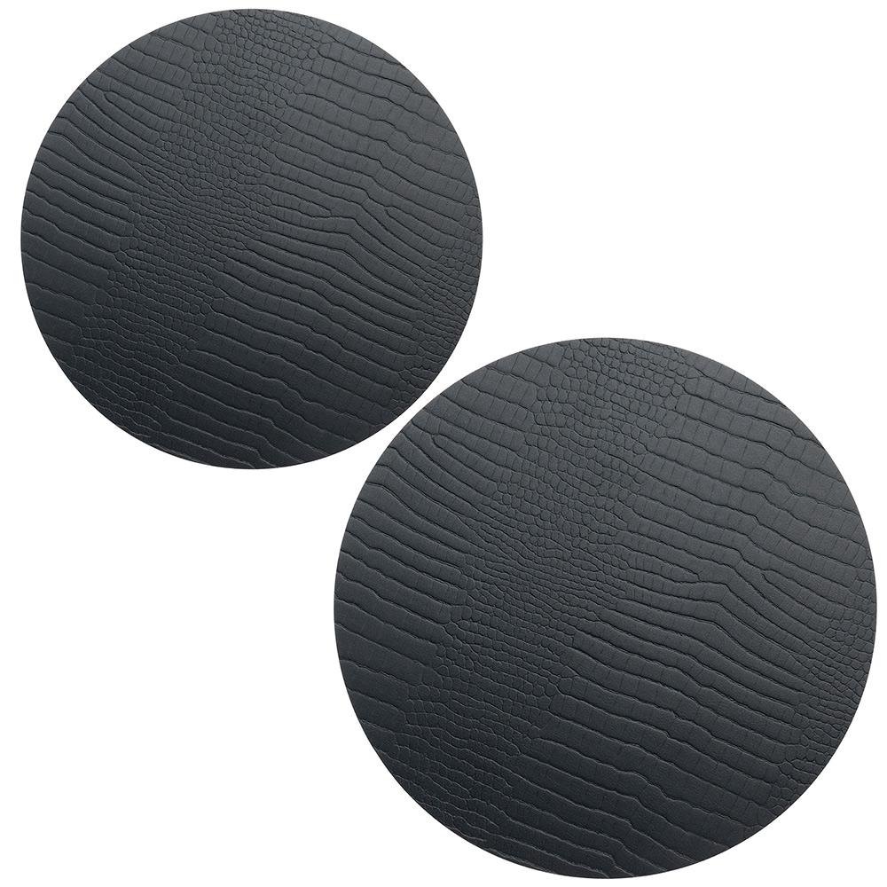 Circle Set Grytunderlägg Croco Black