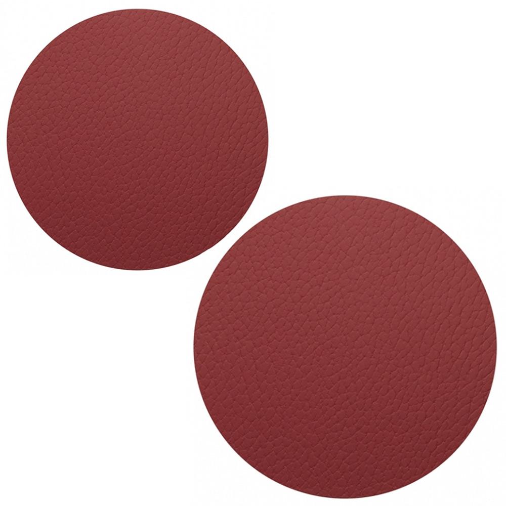 Circle Set Grytunderlägg Bull Red