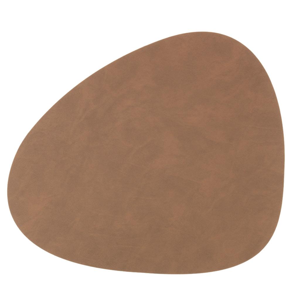 Curve L Bordstablett 37x44cm Nupo Brown