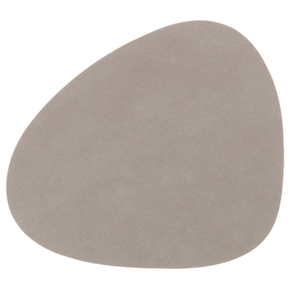 Curve Glasunderlägg 11x13cm, Nupo Light Grey, Lind DNA