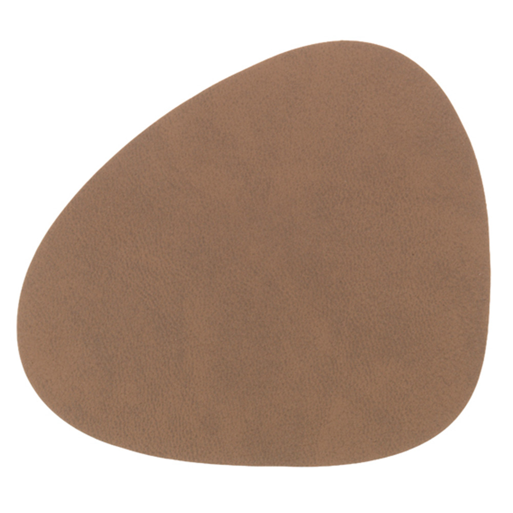 Curve Glasunderlägg 11x13cm Nupo Brown