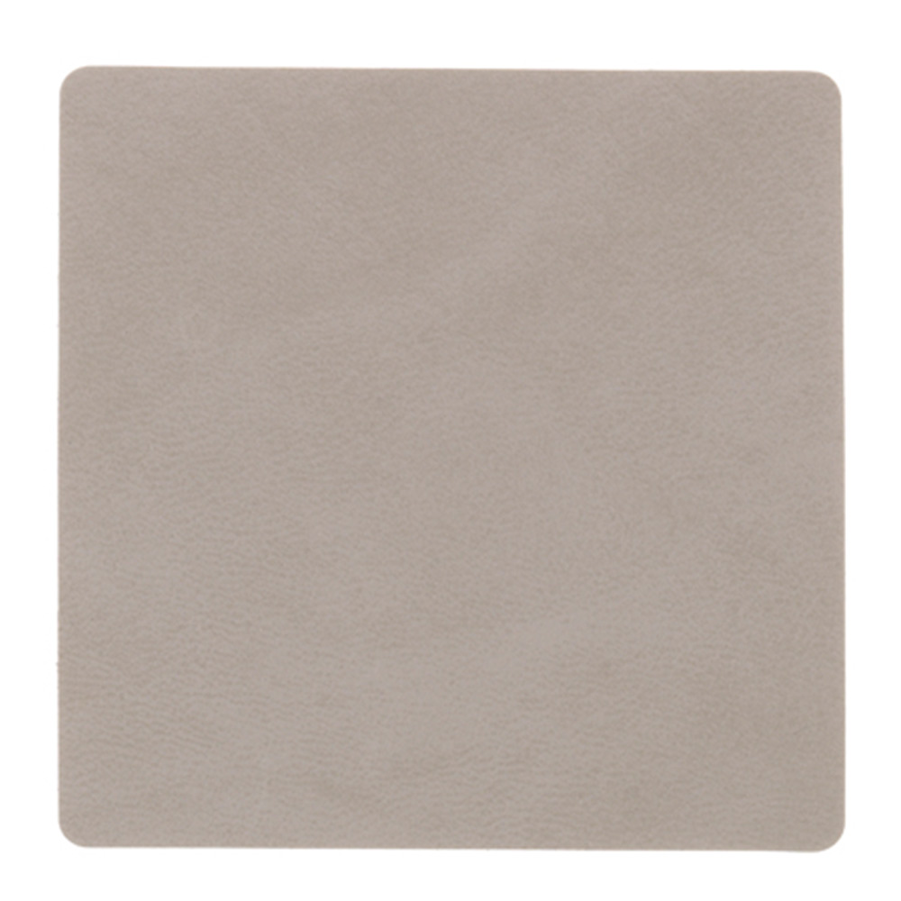Square Glasunderlägg 10x10cm Nupo Light Grey