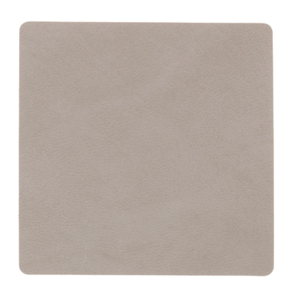 Square Glasunderlägg 10x10cm Nupo Light Grey