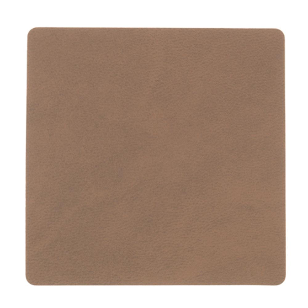 Square Glasunderlägg 10x10cm Nupo Brown