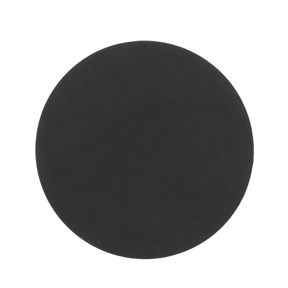 Circle Glasunderlägg ø10cm Nupo Black