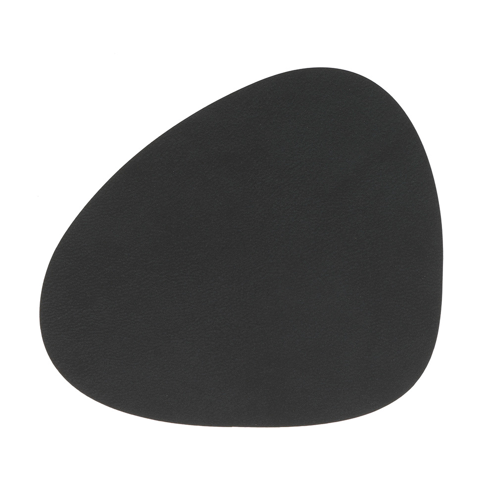 Curve Glasunderlägg 11x13cm Nupo Black
