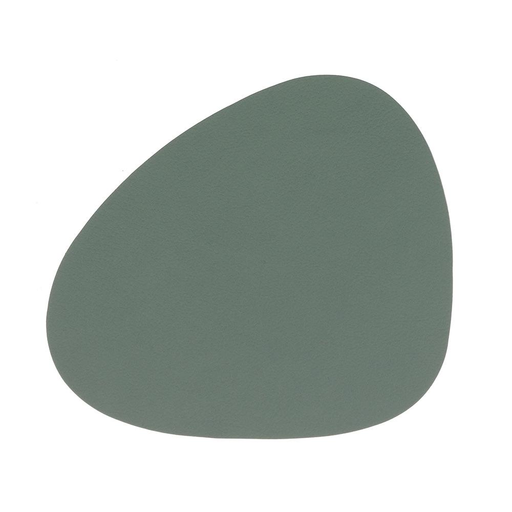 Curve Glasunderlägg 11x13cm Nupo Pastel Green