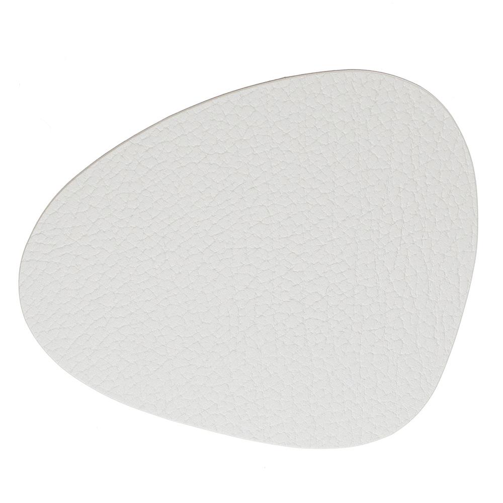 Curve Glasunderlägg 11x13cm Bull White