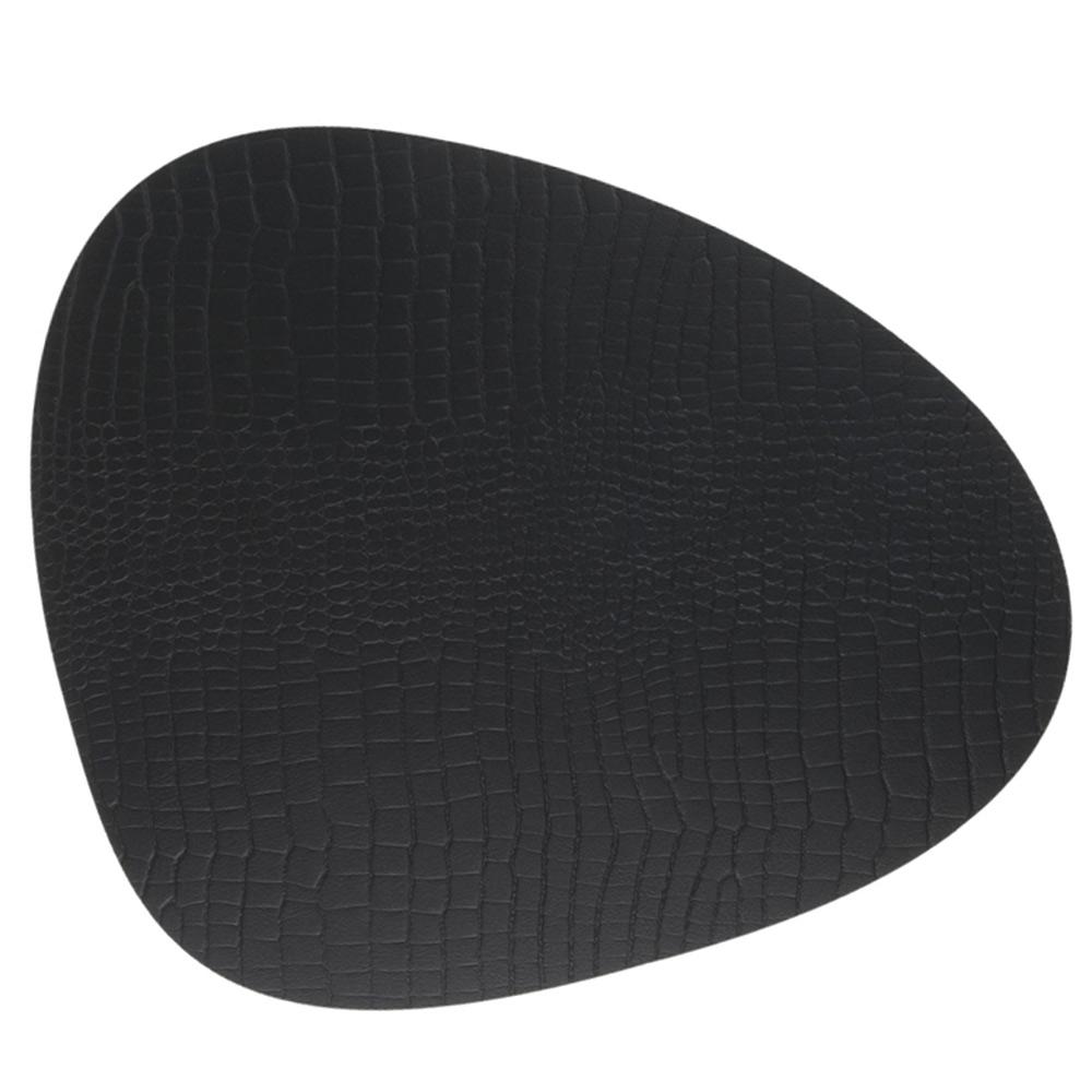 Curve Grytunderlägg 28x34cm Croco Black