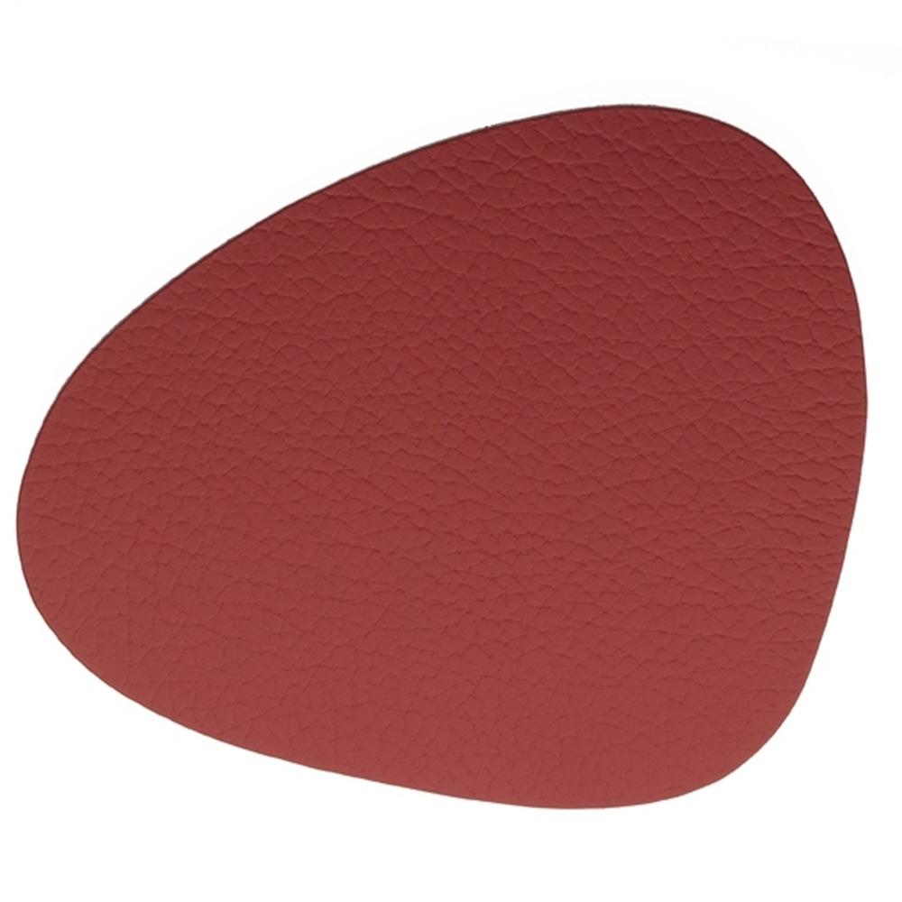 Curve Glasunderlägg 11x13cm Bull Red