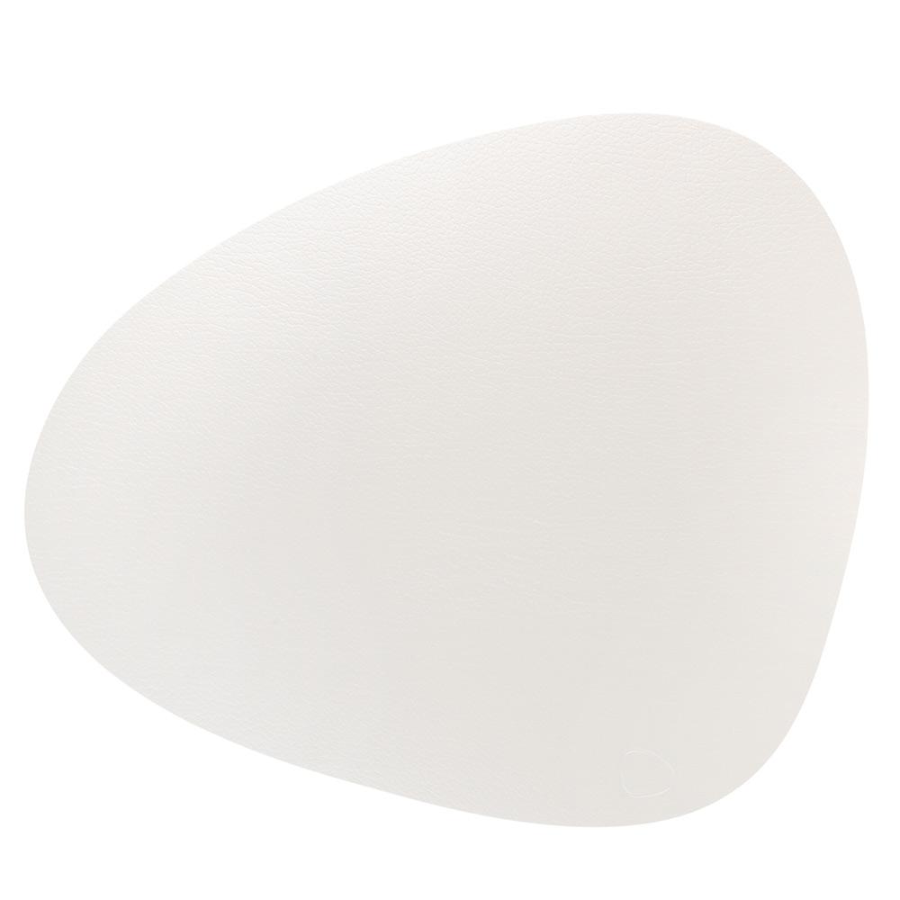 Curve L Bordstablett 37x44cm Bull White