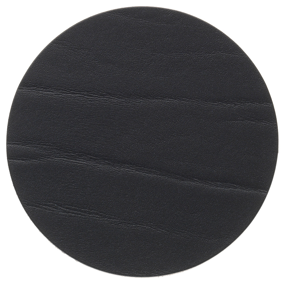 Circle Glasunderlägg ø10cm Buffalo Black
