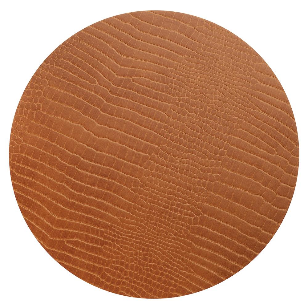 Circle XL Grytunderlägg ø40cm Croco Nature