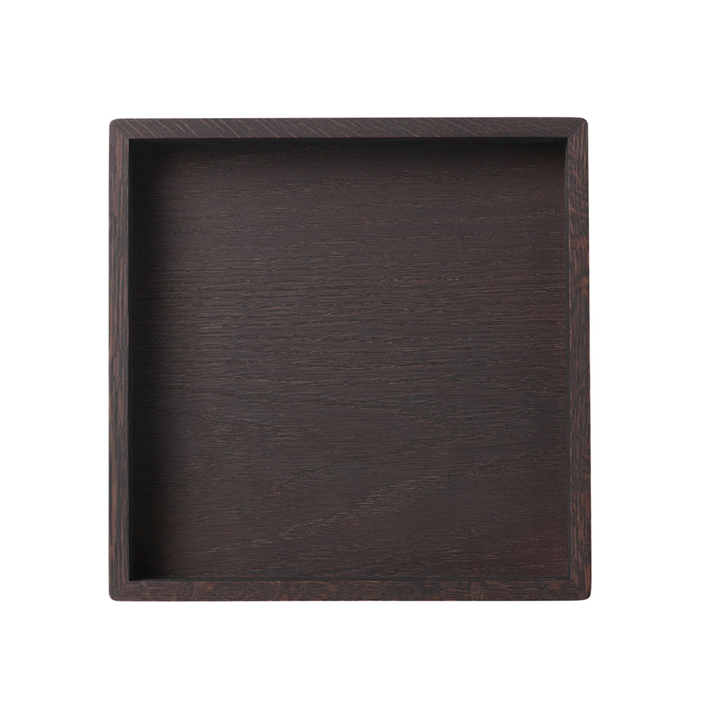 Small Square Bricka 28x28, Smoke
