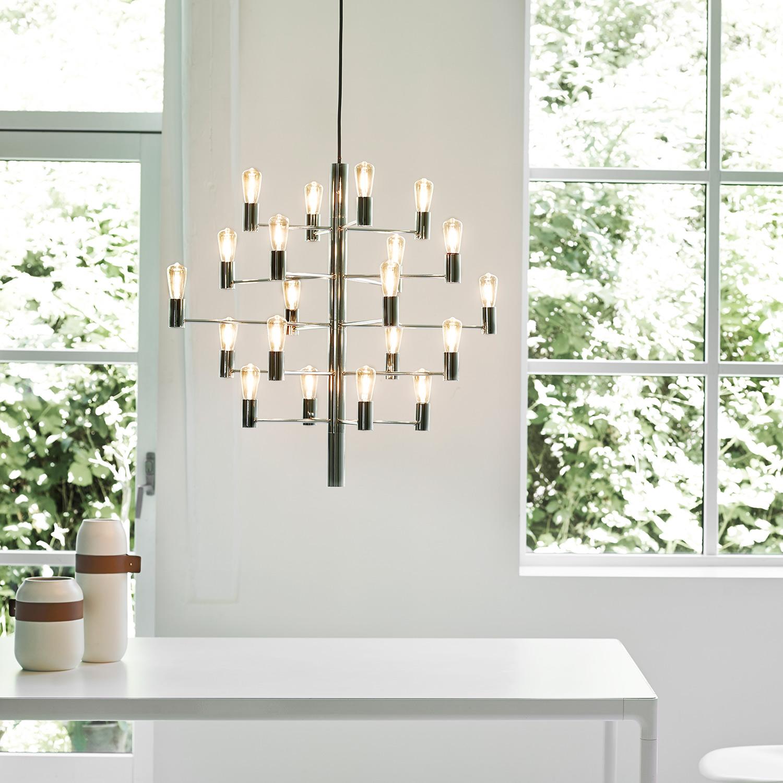 Manola 20 Ljuskrona LED, Graphite, Herstal