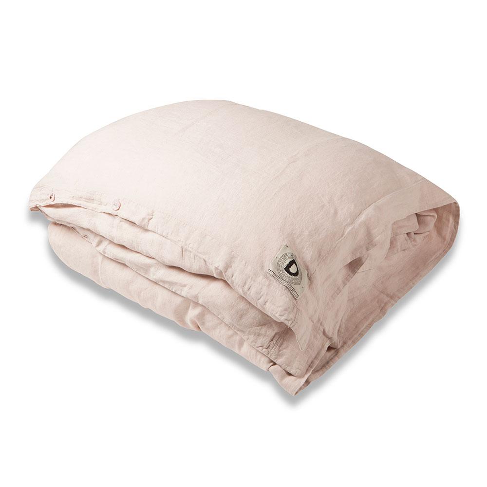 Animeaux Påslakan 220x220 cm, Pink Blush, Dirty Linen