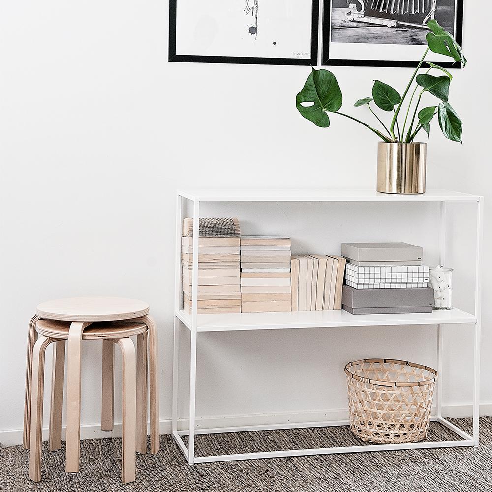 domo sideboard vit domo domo design. Black Bedroom Furniture Sets. Home Design Ideas