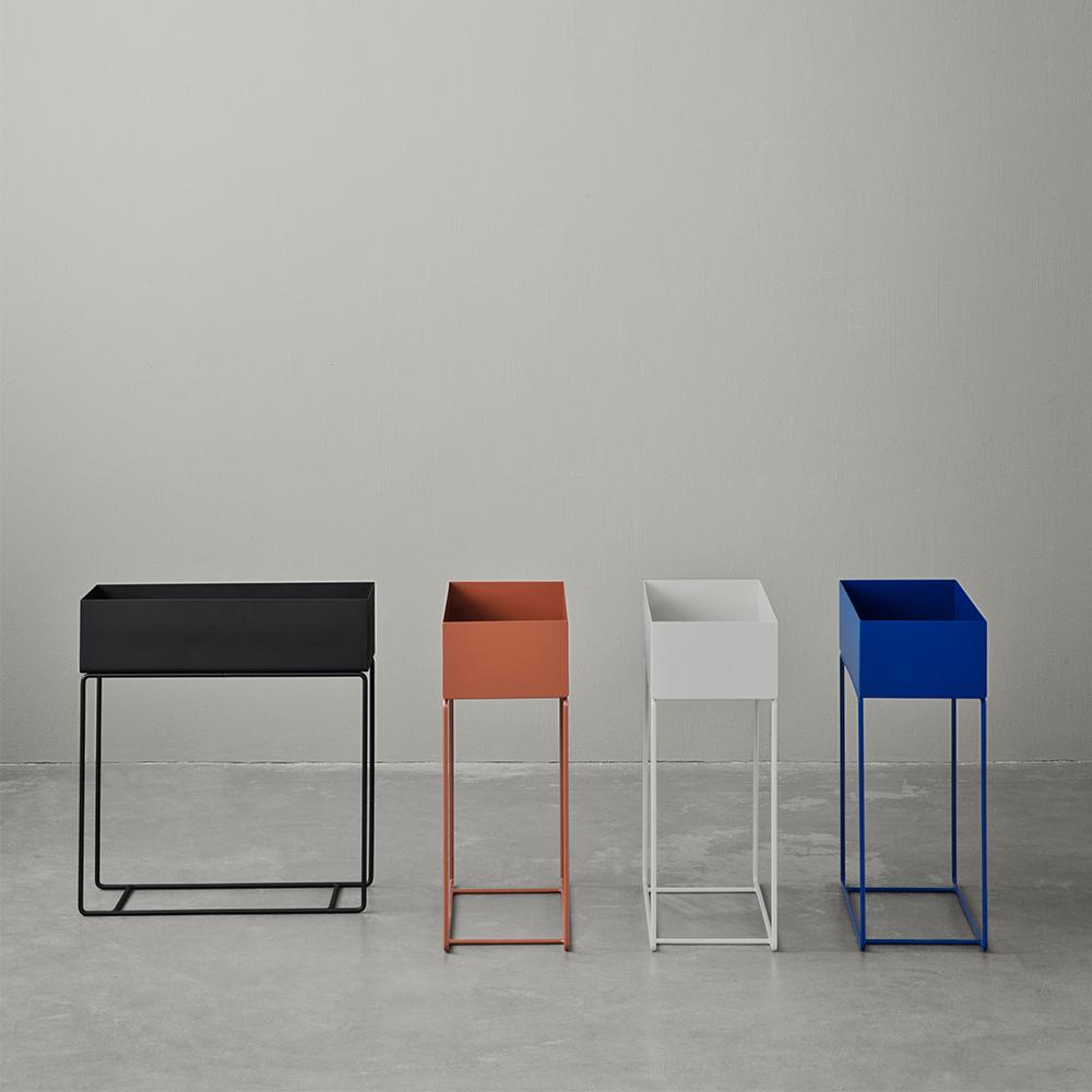 plant box svart ferm living ferm living. Black Bedroom Furniture Sets. Home Design Ideas