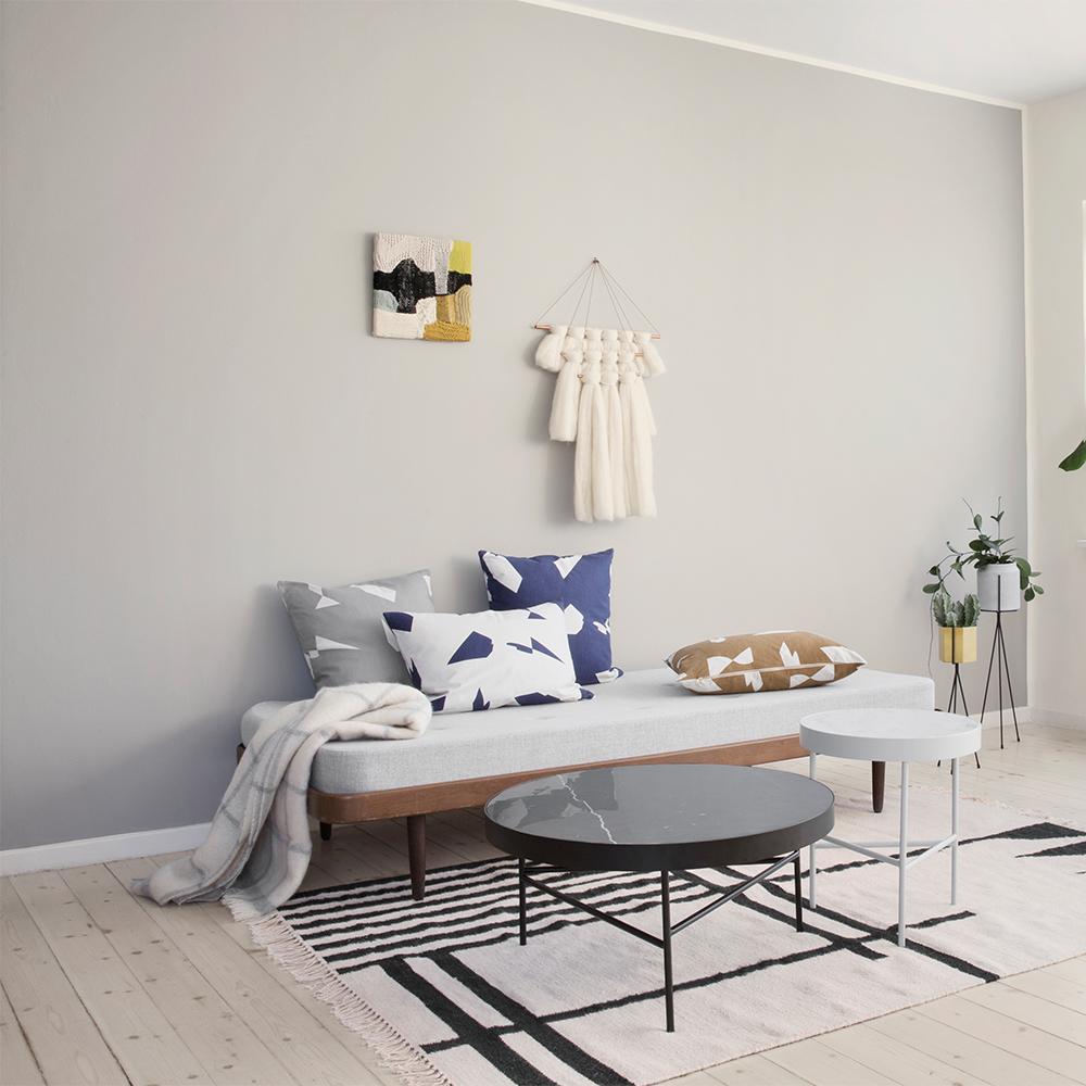 marble bord l svart ferm living ferm living. Black Bedroom Furniture Sets. Home Design Ideas