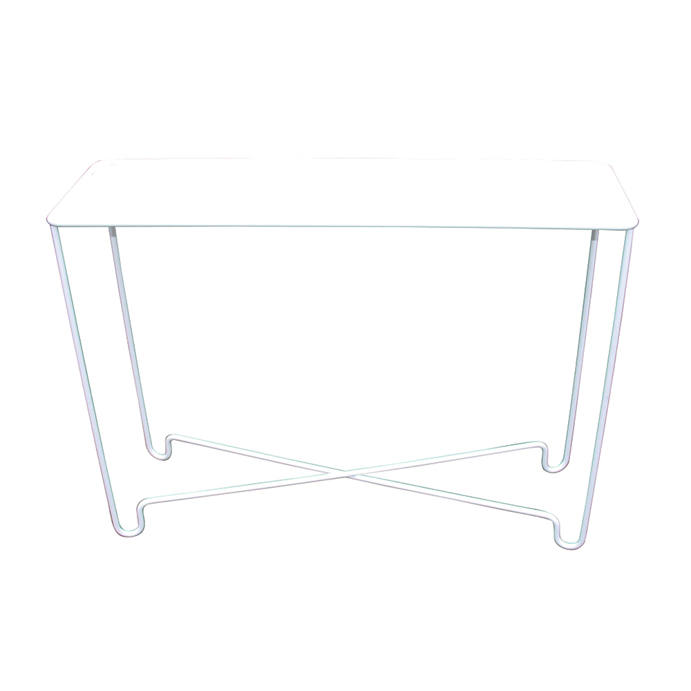 Coco Long Leg Sideboard Pure White