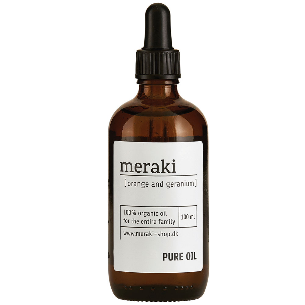 Meraki Pure Oil Orange & Geranium 10cl