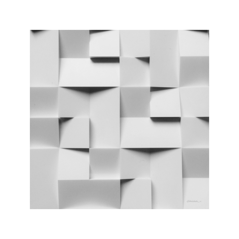 Squares Poster 30×30 cm