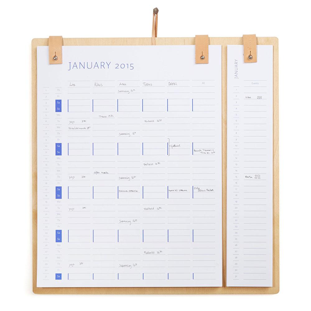 Planner Board Kalender 2016 & 2017
