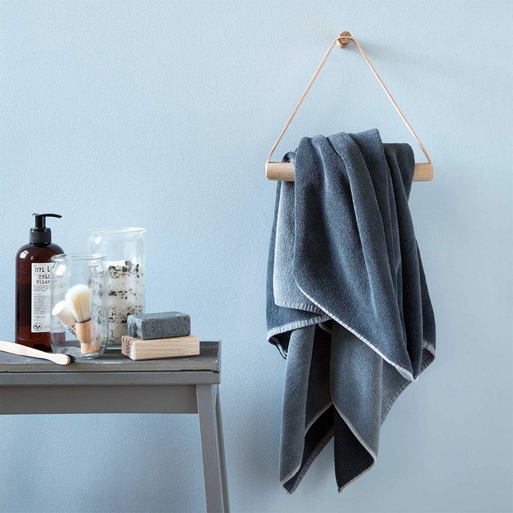 Handdukshängare badrum trä ~ xellen.com