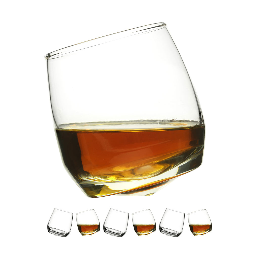 Bar Whiskeyglas Rundad Botten 20cl, 6-pack - Sagaform Design Group - Sagaform - RoyalDesign.se